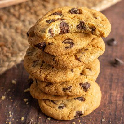 Air Fried Nestle Toll House Chocolate Chip Cookie-6